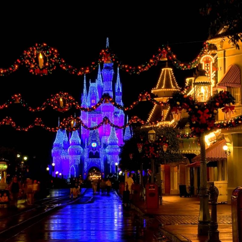 10 Latest Disney World Christmas Wallpaper FULL HD 1920×1080 For PC ...