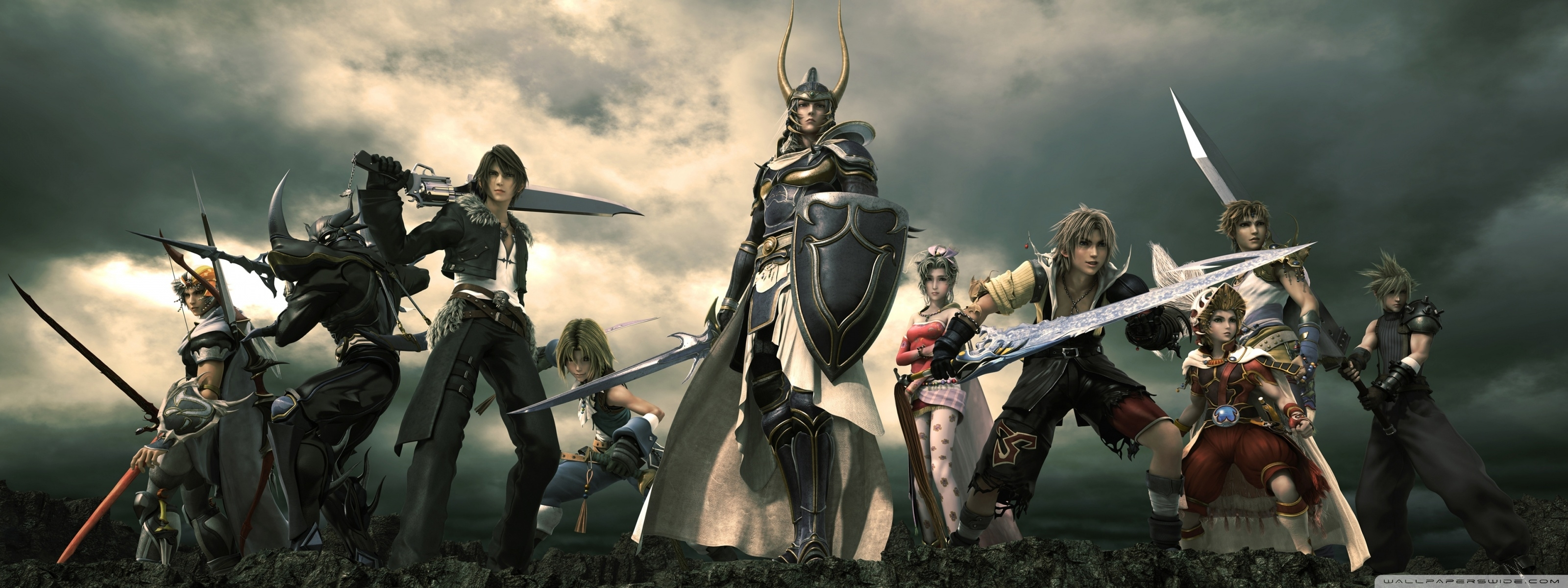 10 New Final Fantasy Triple Monitor Wallpaper FULL HD 1920×1080 For PC Background
