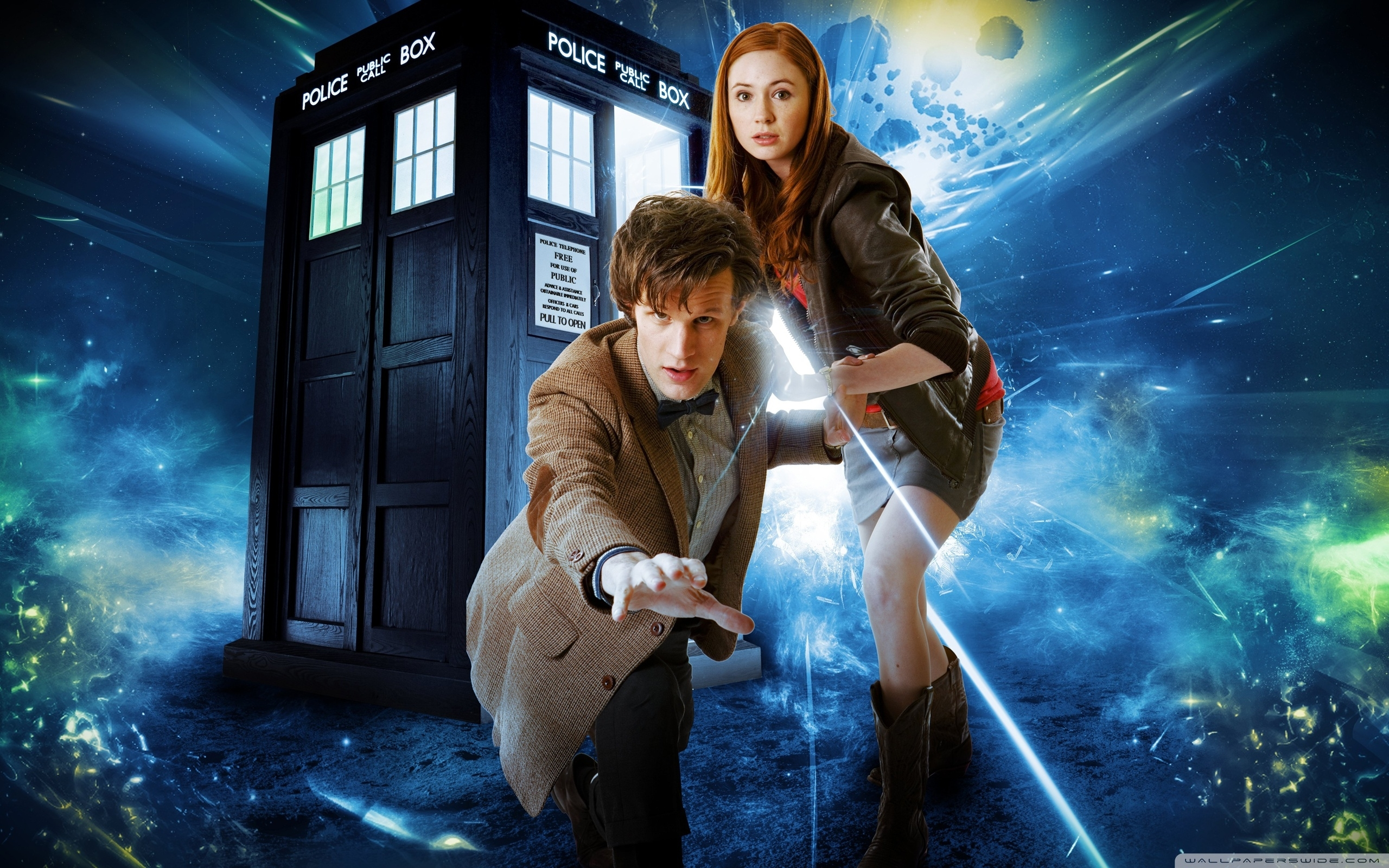 doctor who matt smith and karen gillan ❤ 4k hd desktop wallpaper