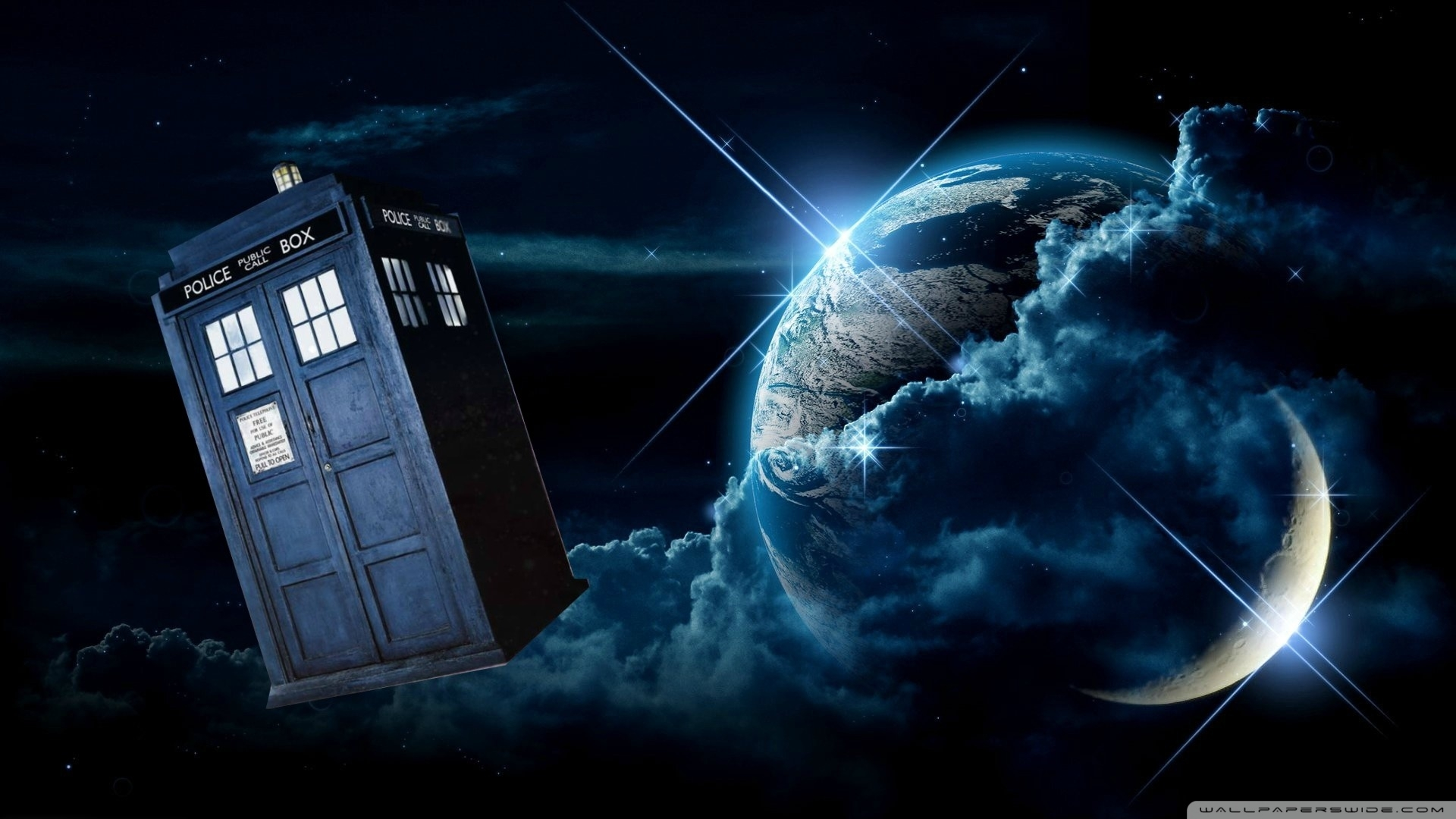doctor who tardis ❤ 4k hd desktop wallpaper for 4k ultra hd tv