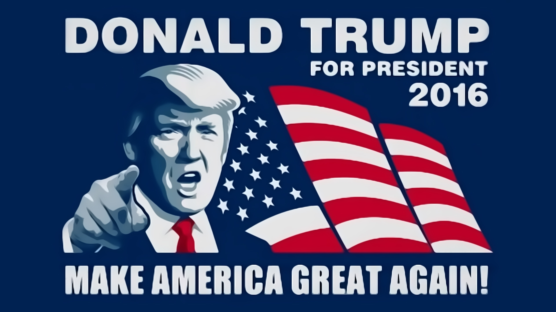 donald trump for president hd wallpaper | 1920x1080 | id:58344