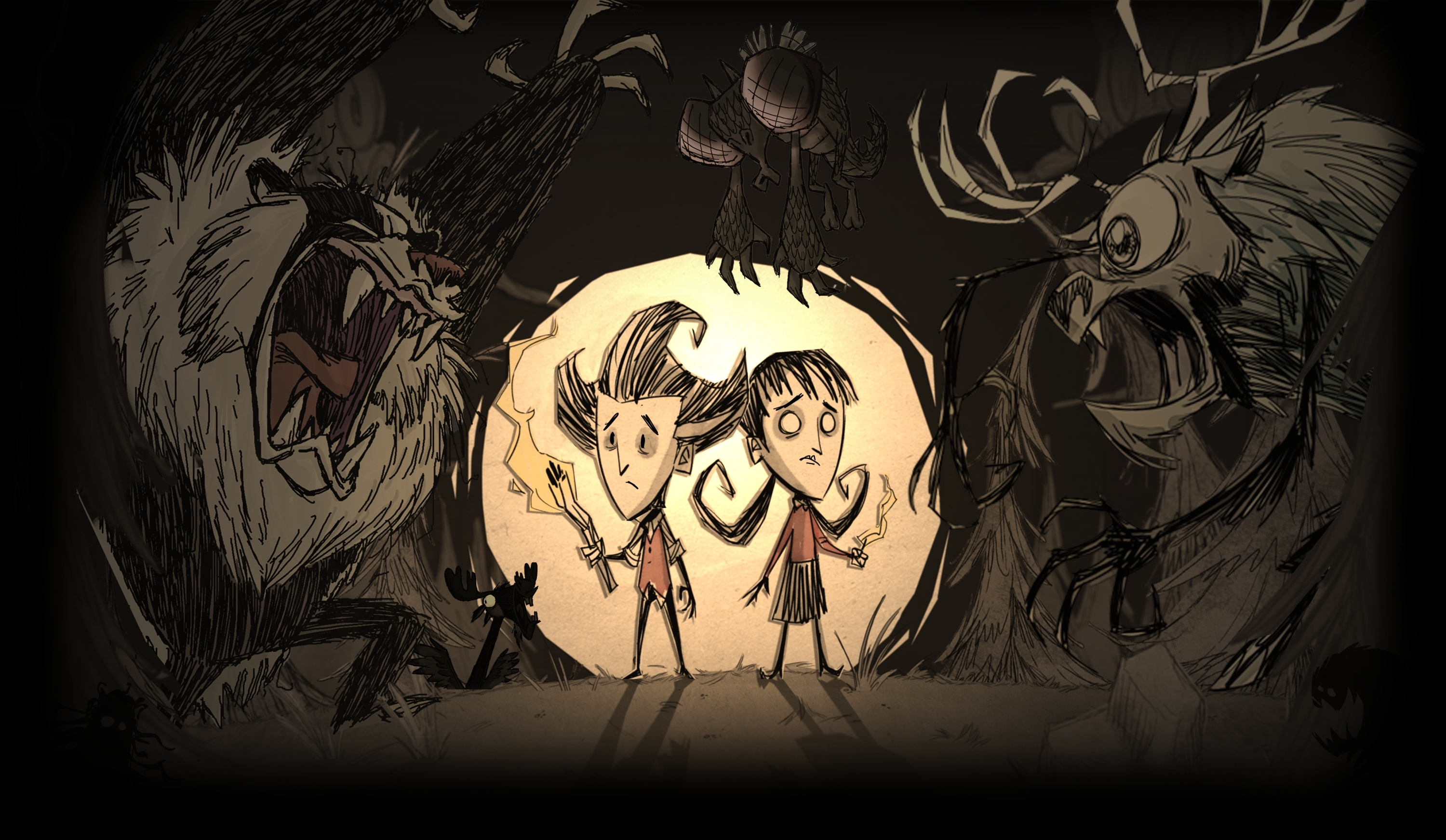 don't starve wallpaper compilation - album on imgur