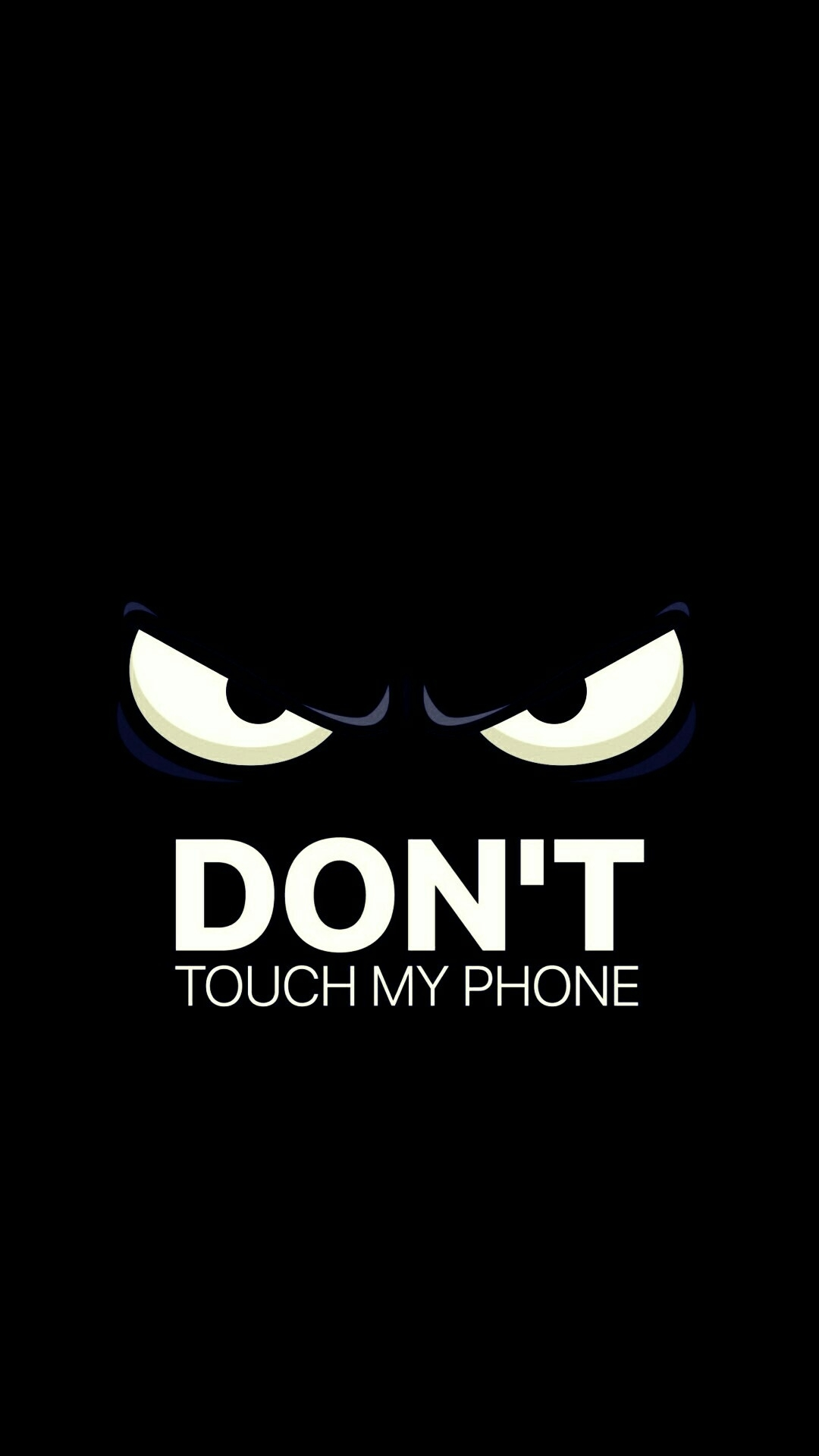 don't touch my phone | fond d'ecran | pinterest | Écran, ecran