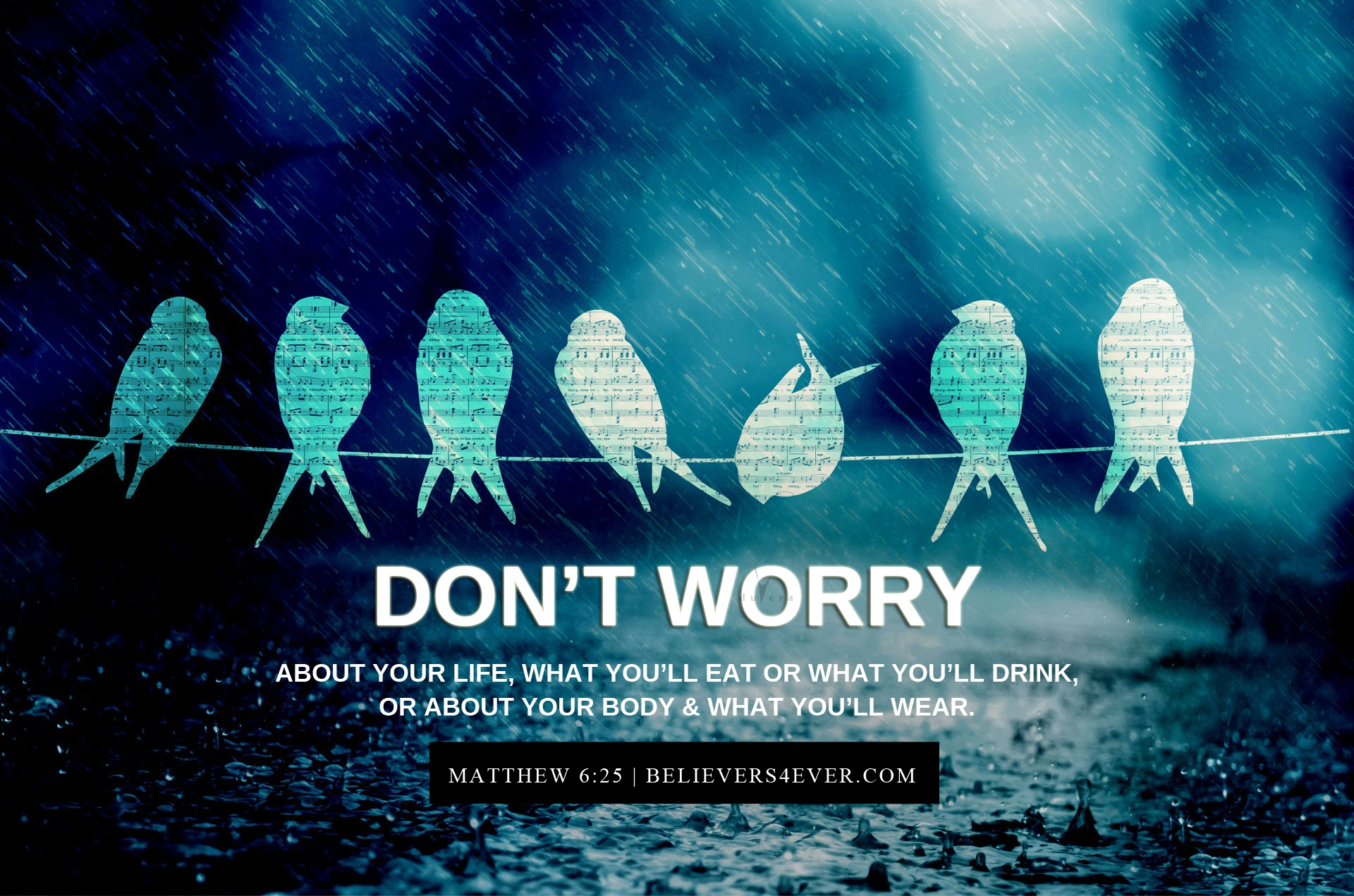 don't worry - believers4ever