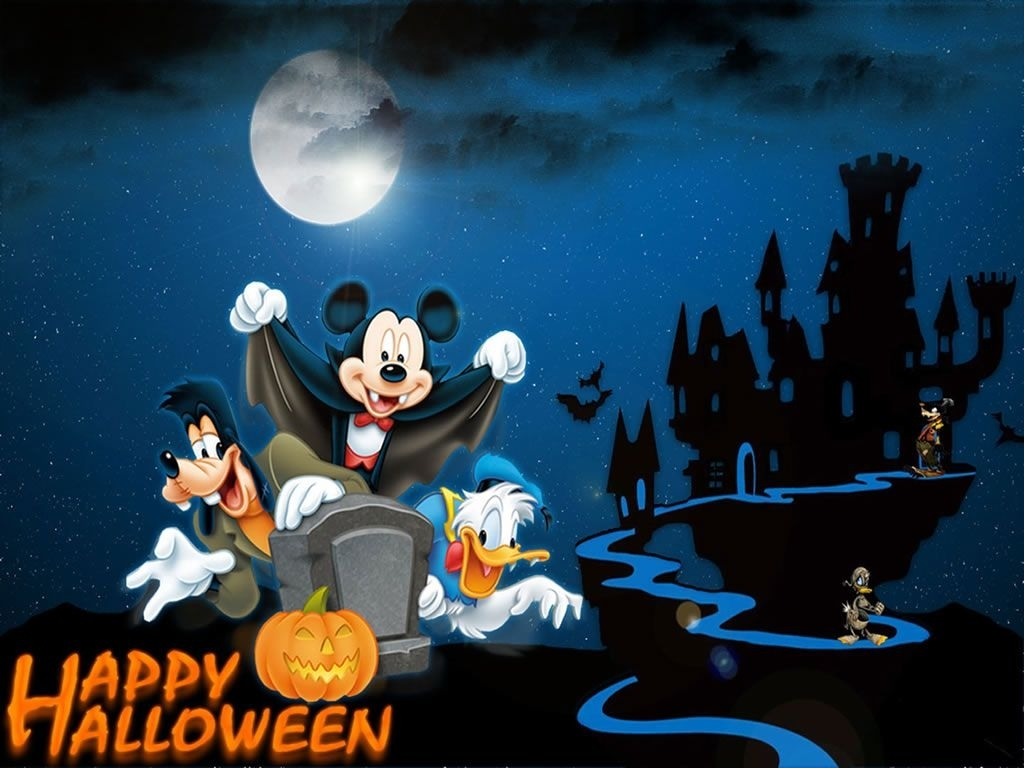 download 50 cute and happy halloween wallpapers hd for free | disney