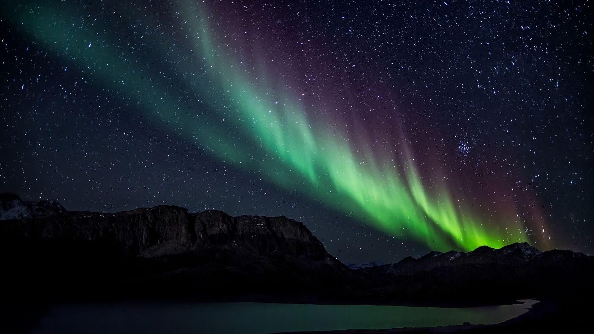 download aurora borealis wallpaper 5077 1920x1080 px high resolution