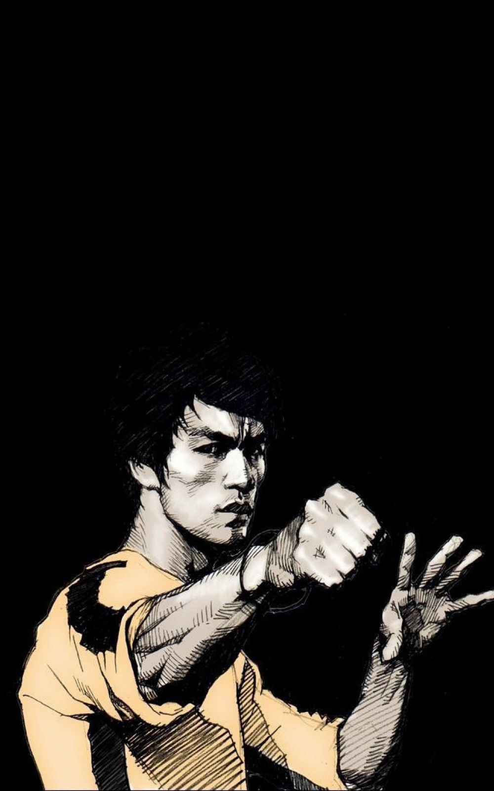 download bruce lee punch iphone 6 plus hd wallpaper | wallpaper