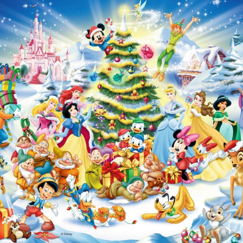10 Latest Disney Christmas Wallpapers Backgrounds FULL HD 1080p For PC Background 2018 free download download disney christmas wallpaper background 1400x1028 1 800x800