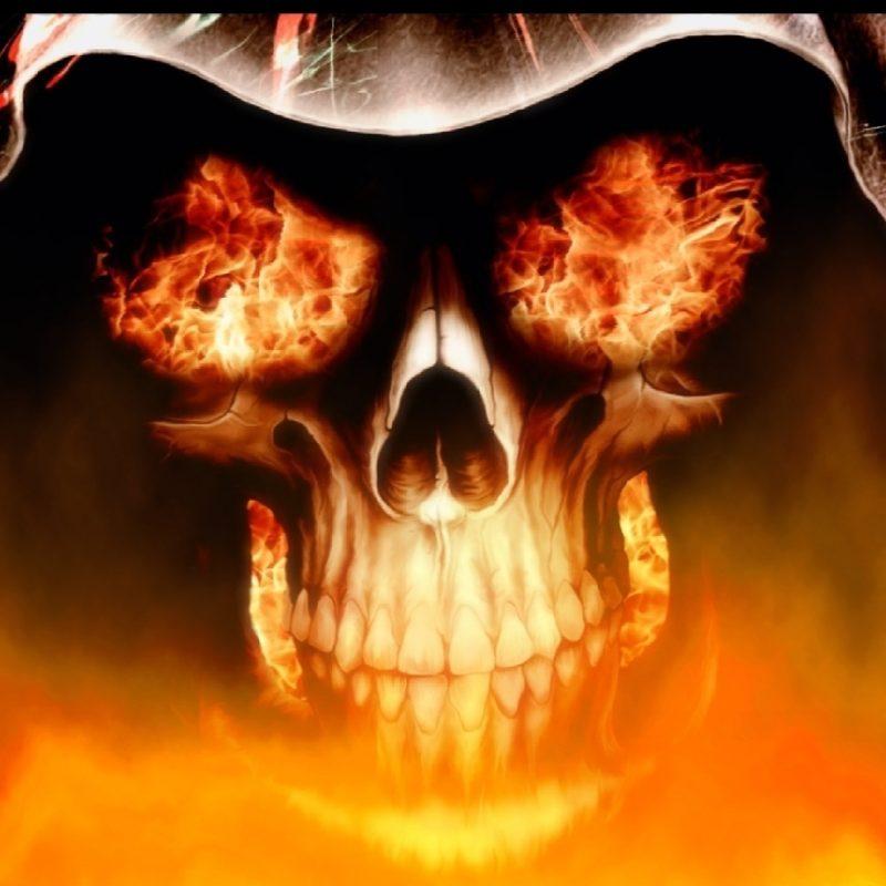 10 Top Skull On Fire Wallpaper FULL HD 1920×1080 For PC Background 2018 free download download fire skull animated wallpaper desktopanimated 800x800