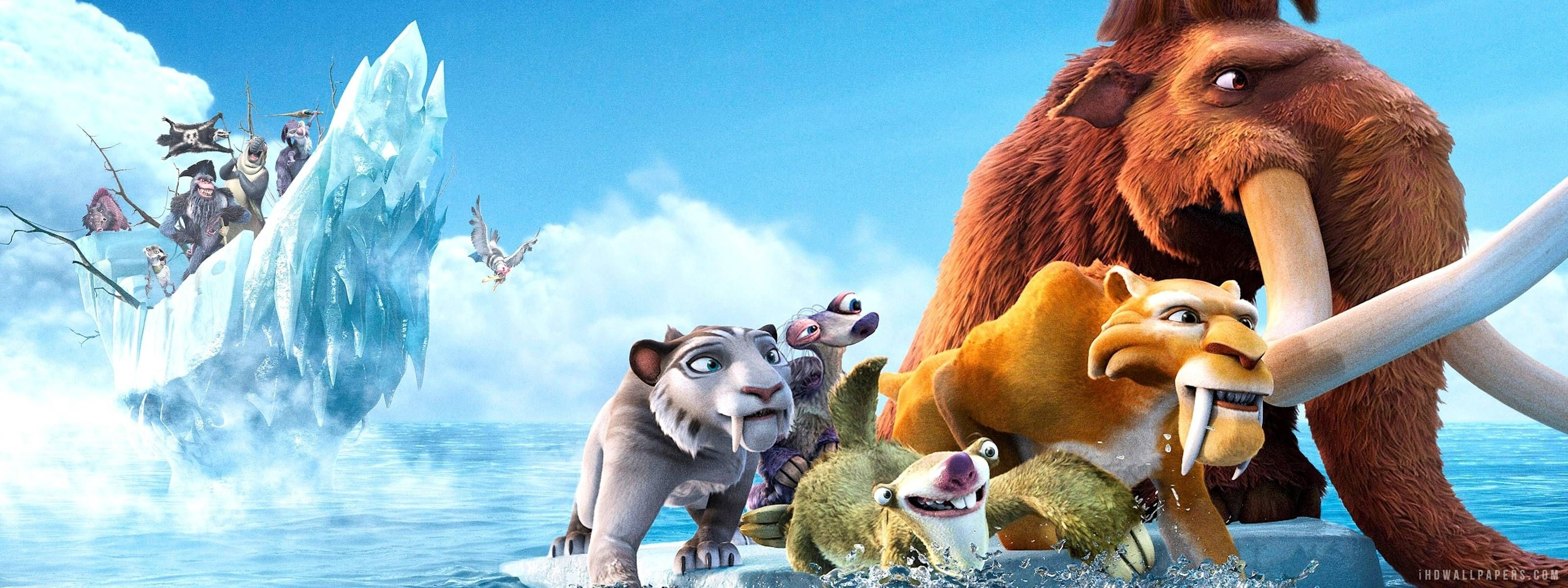 download free ice age wallpaper 3200x1200 - full hd wall   epic car