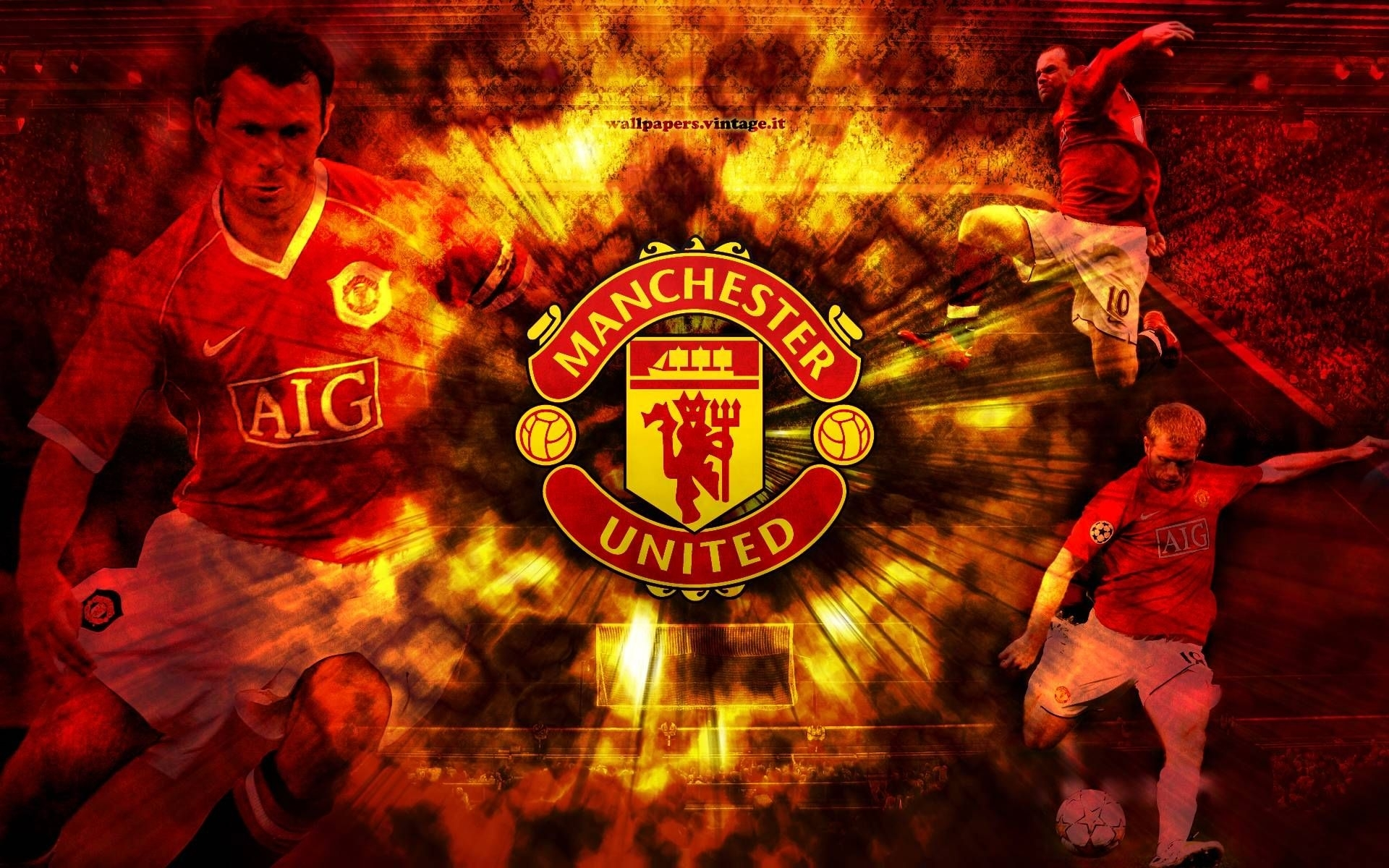 download free manchester united wallpapers for your mobile phone