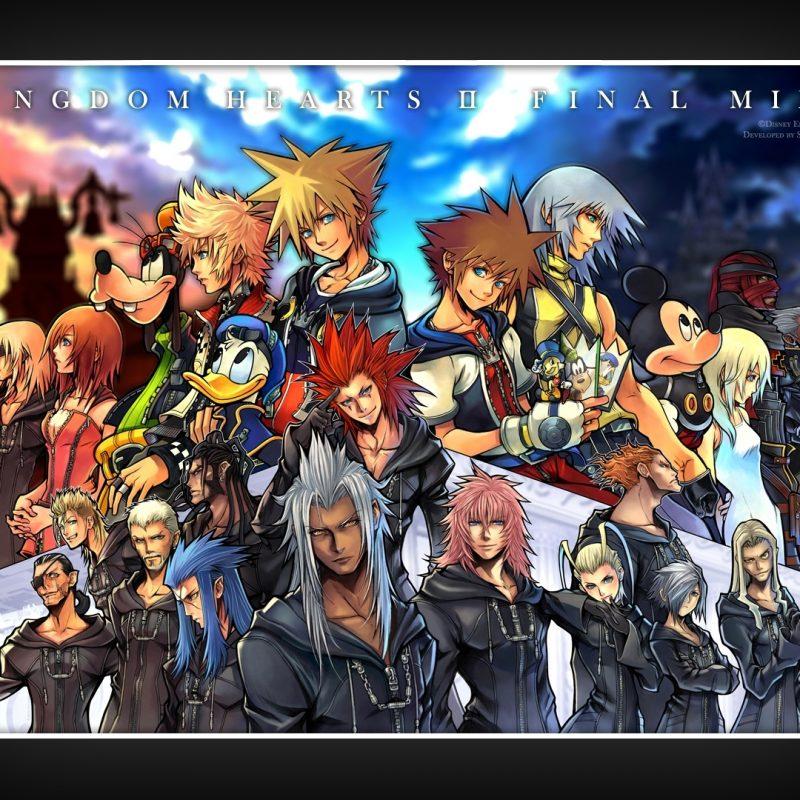 10 New Kingdom Hearts 2 Hd Wallpaper FULL HD 1080p For PC Desktop 2018 free download download kingdom hearts hd wallpapers wallpaper wiki 800x800