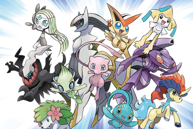 10 Latest All Legendary Pokemon In One Picture FULL HD 1920×1080 For PC Desktop 2021 free download download mew and more pokemon legendaries starting next week polygon 800x533