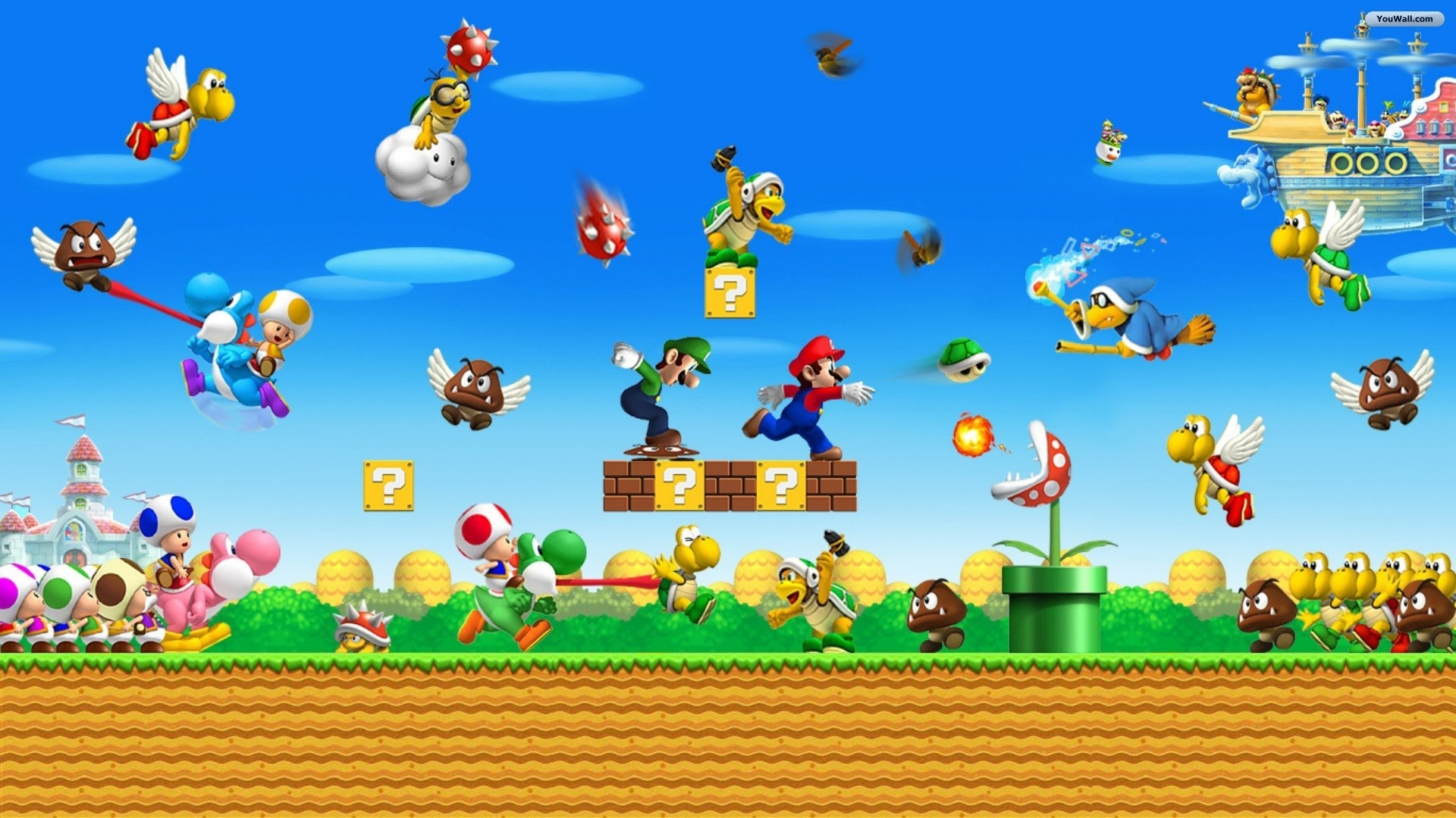 download super mario world free hd wallpaper background 1920×1080