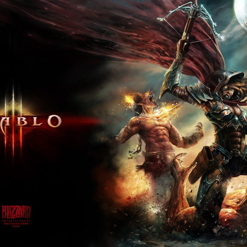 10 New Diablo Demon Hunter Wallpaper FULL HD 1920×1080 For PC Background 2018 free download %name