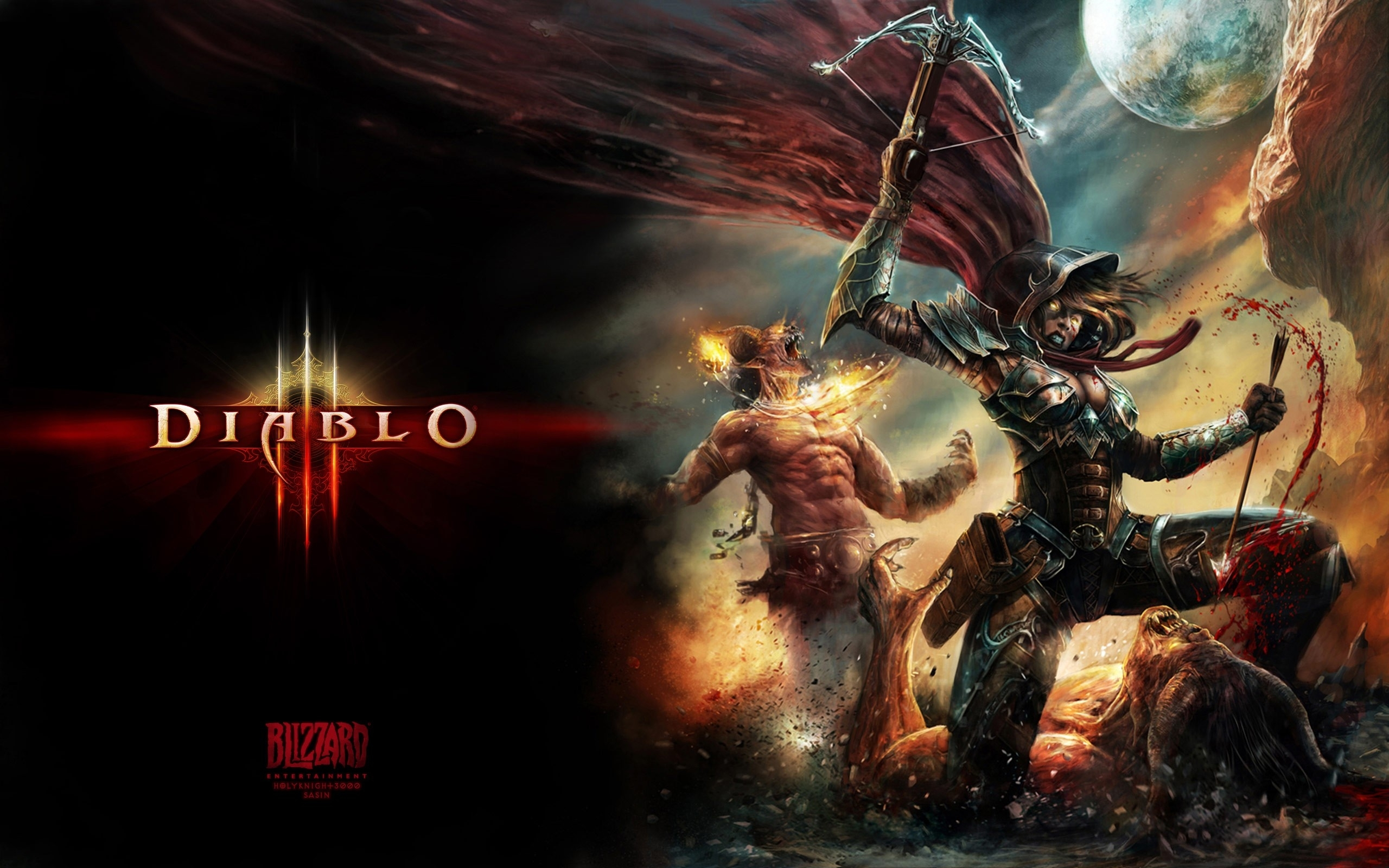 10 New Diablo Demon Hunter Wallpaper Full Hd 1920 1080 For Pc Background