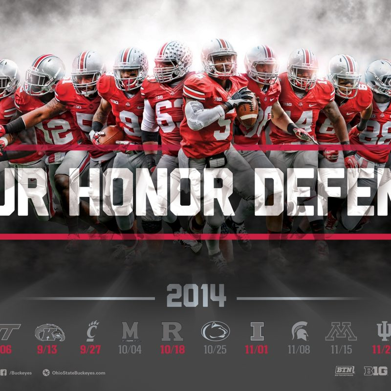 10 Latest Ohio State Buckeyes Screen Savers FULL HD 1920×1080 For PC Background 2018 free download download the ohio state football 2014 schedule poster for printing 6 800x800
