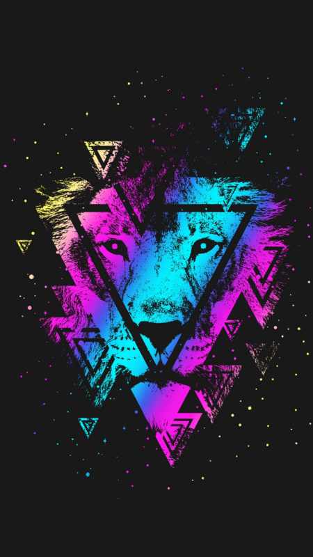 10 Latest Galaxy Lion Wallpaper FULL HD 1920×1080 For PC Background 2018 free download download wallpaper 1440x2560 lion colorful triangle art muzzle 450x800