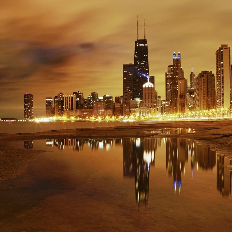 10 Latest Chicago Skyline Wallpaper 1920X1080 FULL HD 1920×1080 For PC Desktop 2018 free download download wallpaper 1920x1080 city chicago night lights lake 800x800