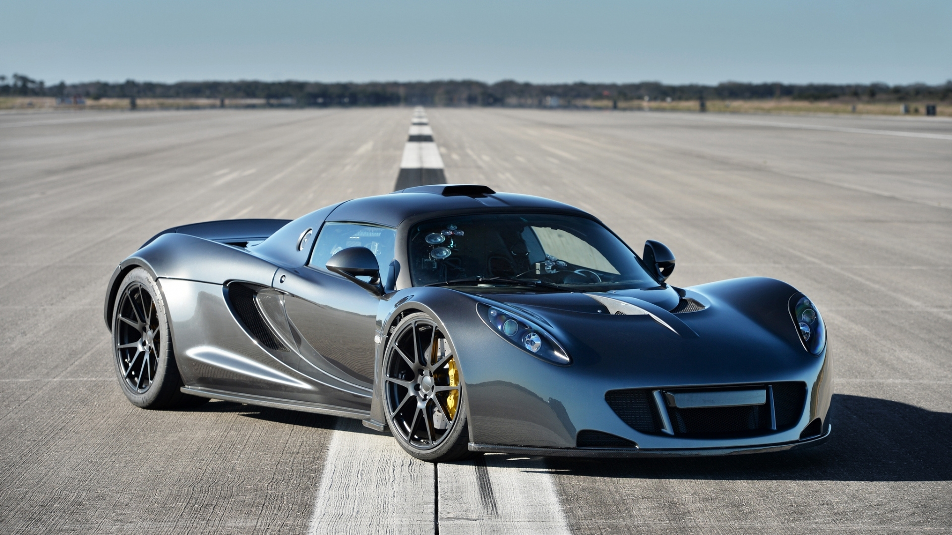 download wallpaper 1920x1080 hennessey, venom, gt, spyder, black