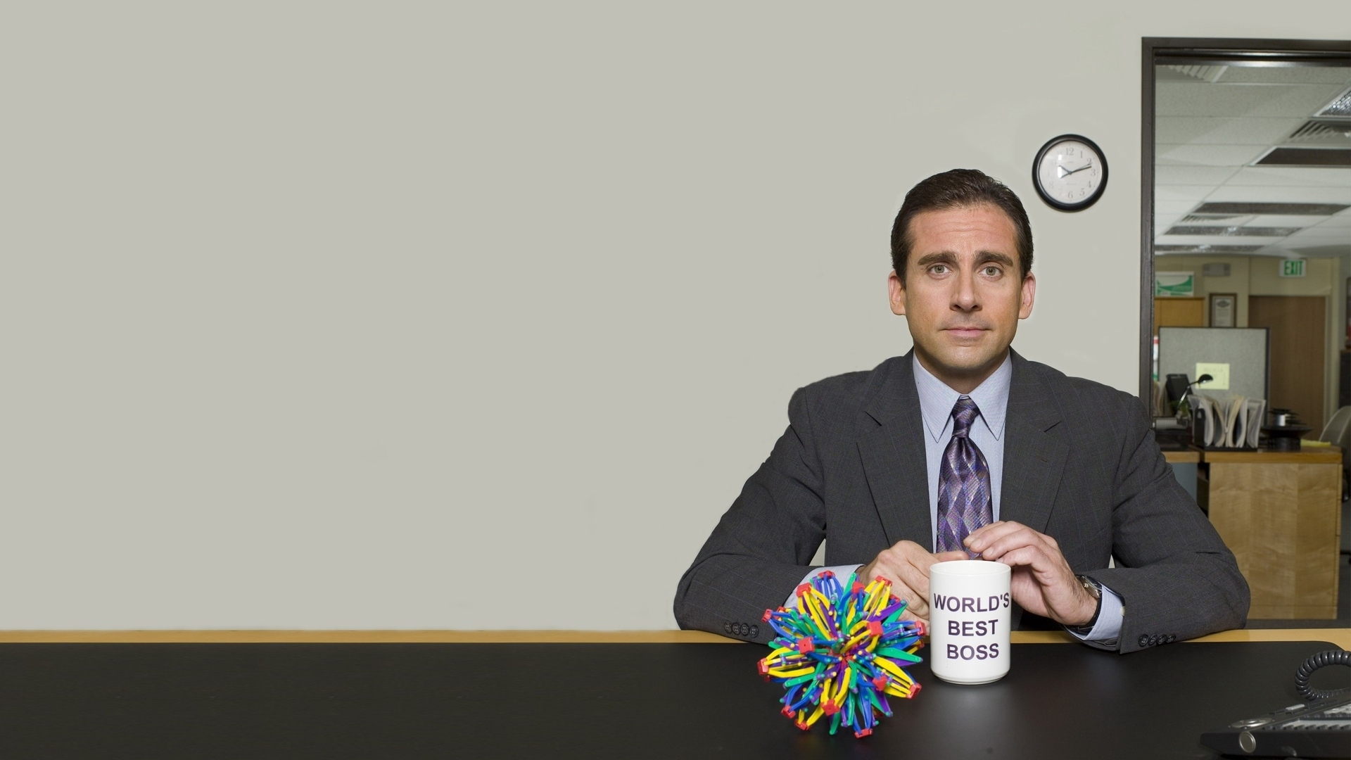 download wallpaper 1920x1080 the office, tv series, steve carell