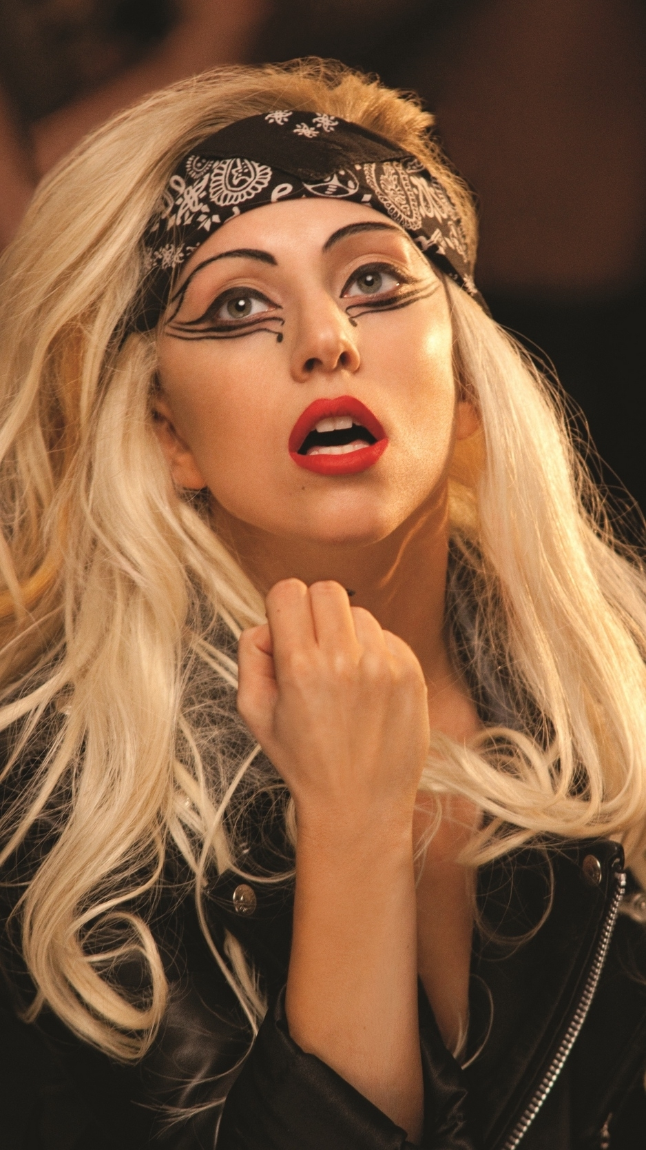 download wallpaper 938x1668 lady gaga, mother monster, singer