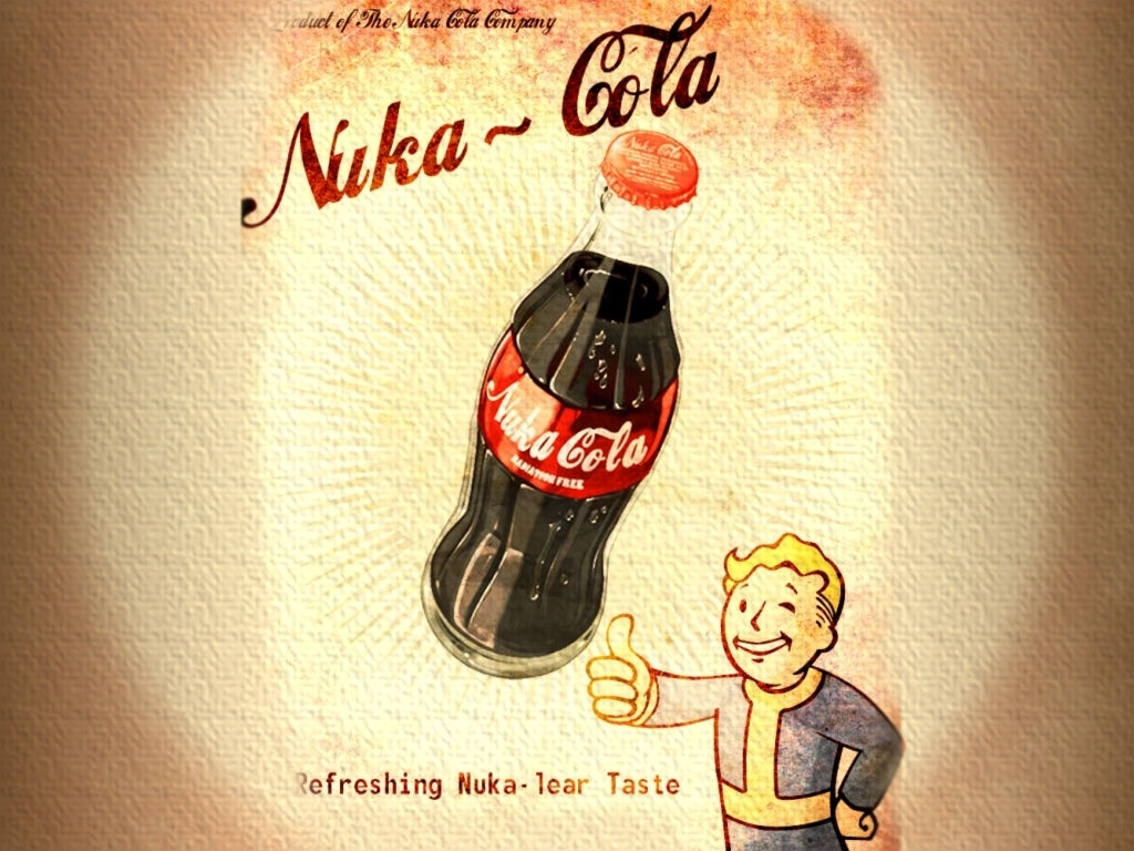 download wallpapers, download 2560x1920 fallout vault boy nuka cola