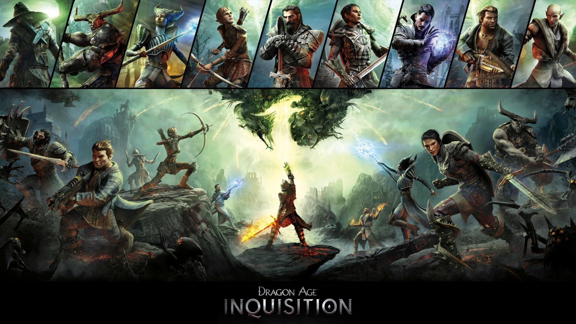 dragon age inquisition wallpaper [d/l in comments] : xboxthemes