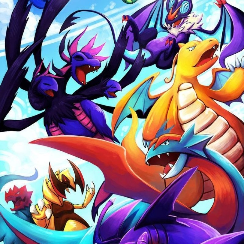 10 Top Dragon Type Pokemon Wallpaper FULL HD 1080p For PC Desktop 2018 free download dragon type pokemon wallpapers wallpaper cave 800x800