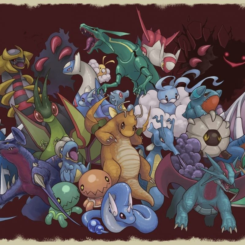10 Top Dragon Type Pokemon Wallpaper FULL HD 1080p For PC Desktop 2018 free download dragon types pre gen 5 pokemon 800x800