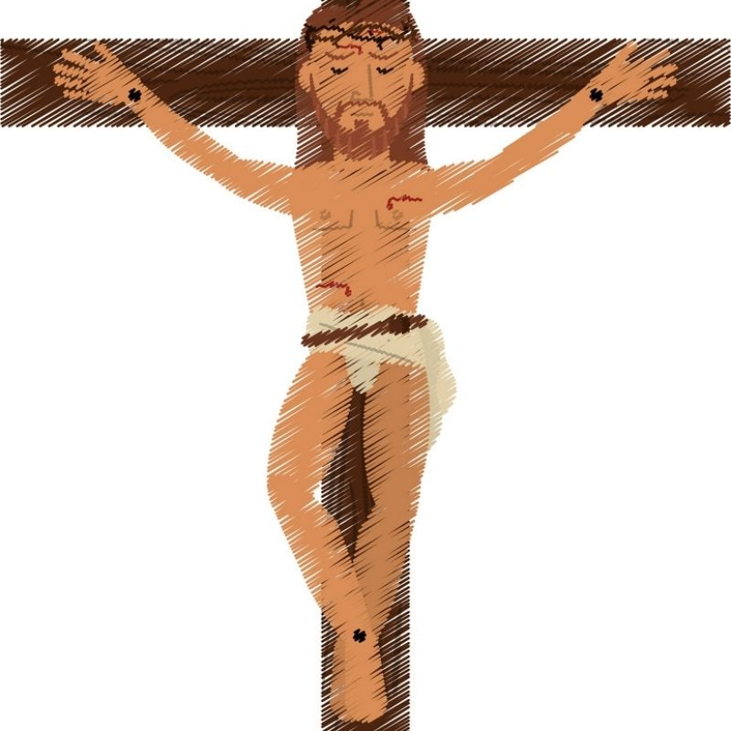 10 Top Jesus Christ Crucified Images FULL HD 1920×1080 For PC Background 2021 free download drawing jesus christ crucified image royalty free vector 800x800