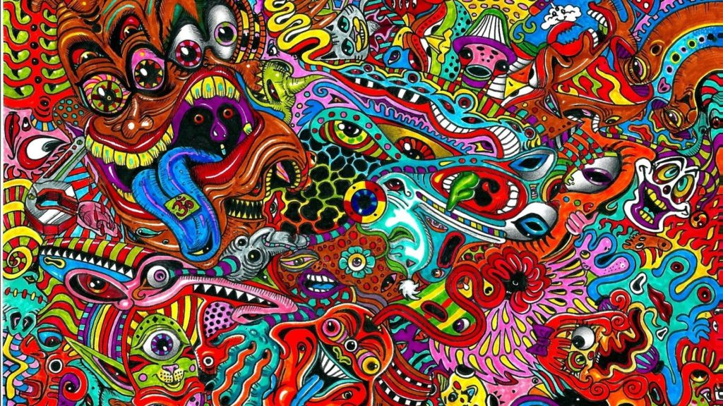 10 New Acid Trippy Wallpapers Hd FULL HD 1920×1080 For PC Background 2020 free download drugs mess psychedelic acid colors wallpaper 77133 1024x576