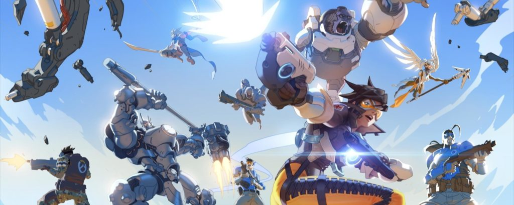 Overwatch Wallpaper Dual Monitor: 10 New Dual Screen Overwatch Wallpaper FULL HD 1080p For