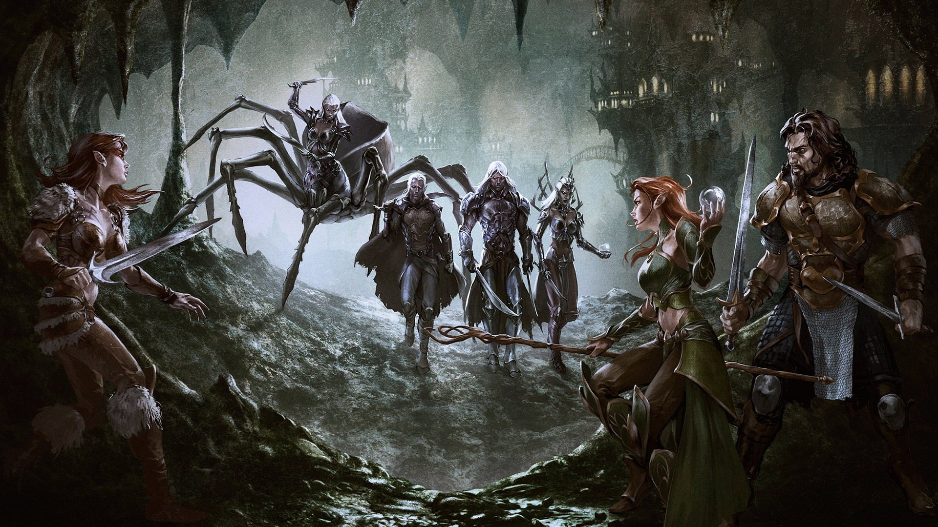 10 Best Dungeons And Dragons Hd Wallpapers FULL HD 1920x1080 For PC Desktop 2018