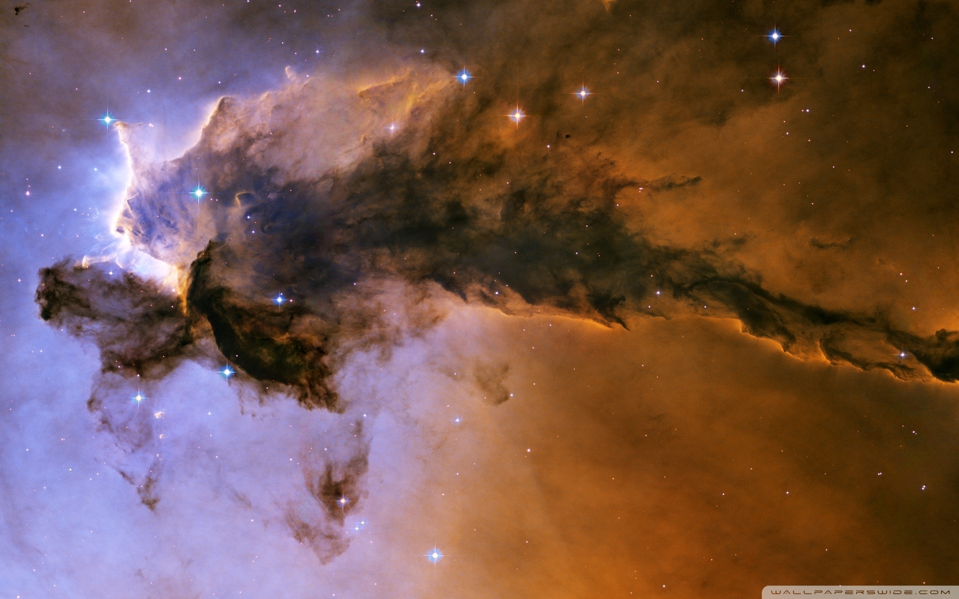 eagle nebula ❤ 4k hd desktop wallpaper for 4k ultra hd tv • tablet