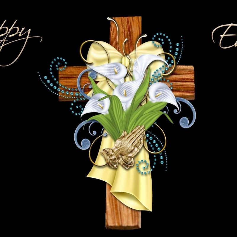 10 Top Free Religious Easter Wallpaper FULL HD 1920×1080 For PC Background 2018 free download easter cross decorated with calla lilies praying golden hands 800x800
