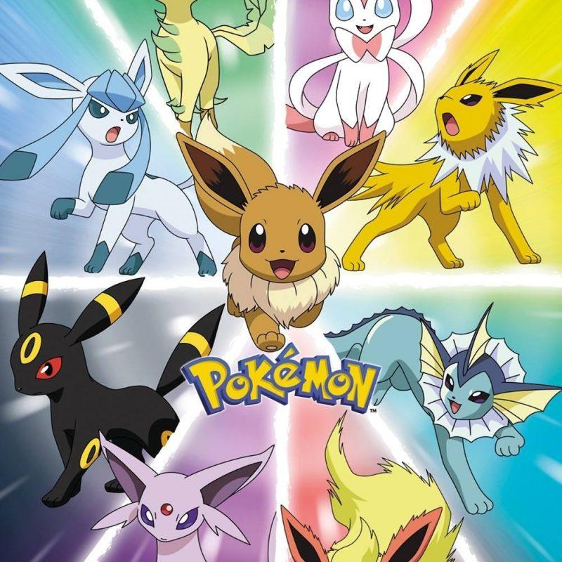 10 Most Popular Pokemon Eevee Evolution Pictures FULL HD 1080p For PC Desktop 2018 free download eevee evolution maxi poster 800x800