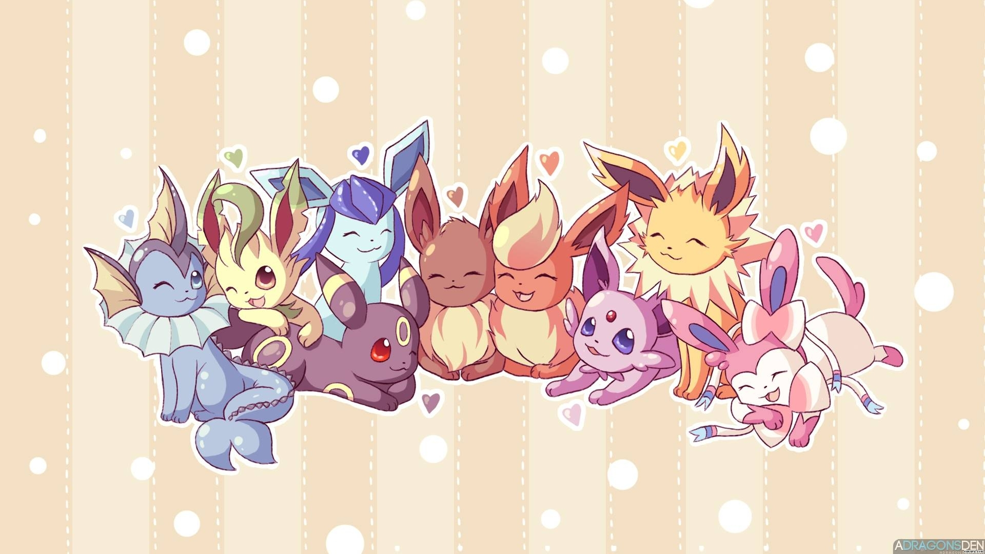 10 Top Pokemon Eevee Evolutions Wallpaper FULL HD 1920×1080 For PC Background