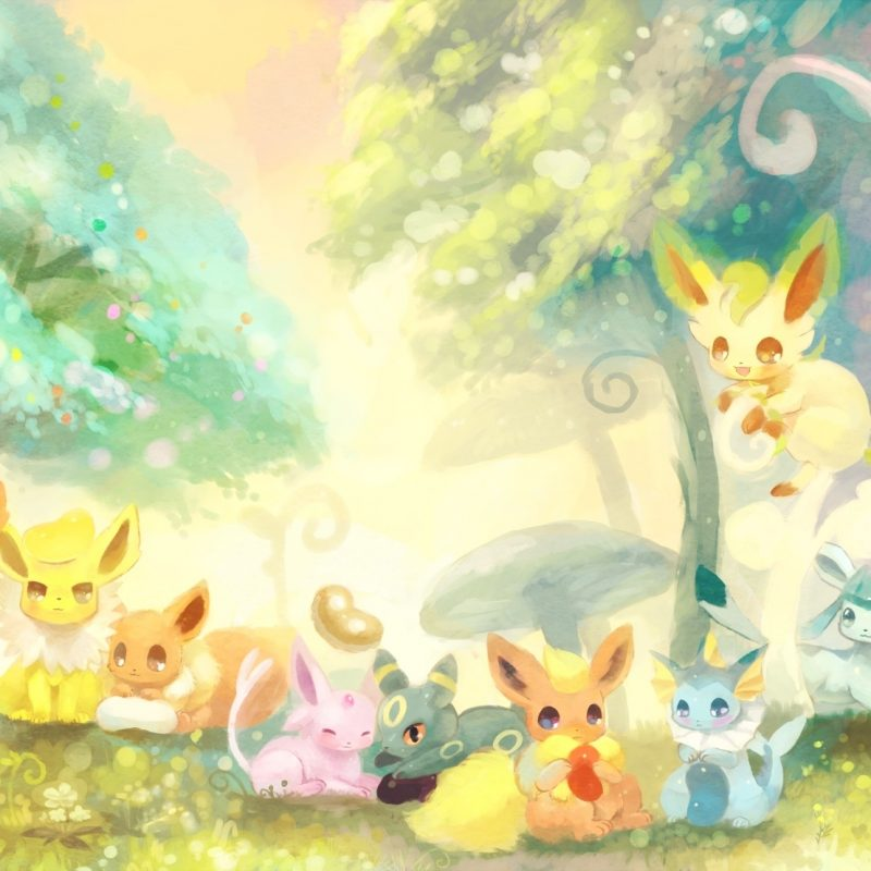 10 Most Popular Cute Eevee Evolutions Wallpaper FULL HD 1920×1080 For PC Desktop 2018 free download eevee world sylveon jolteon eevee espeon umbreon flareon 800x800