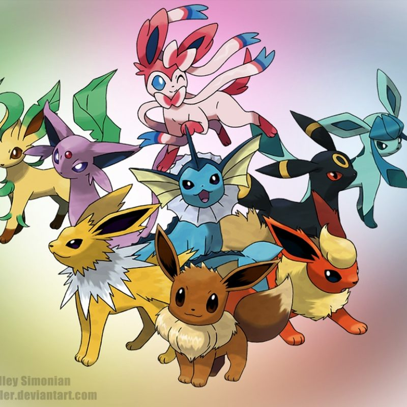 10 Top Pokemon Eevee Evolutions Wallpaper FULL HD 1920×1080 For PC Background 2018 free download eeveelution wallpaper abradsimonian on deviantart 1 800x800