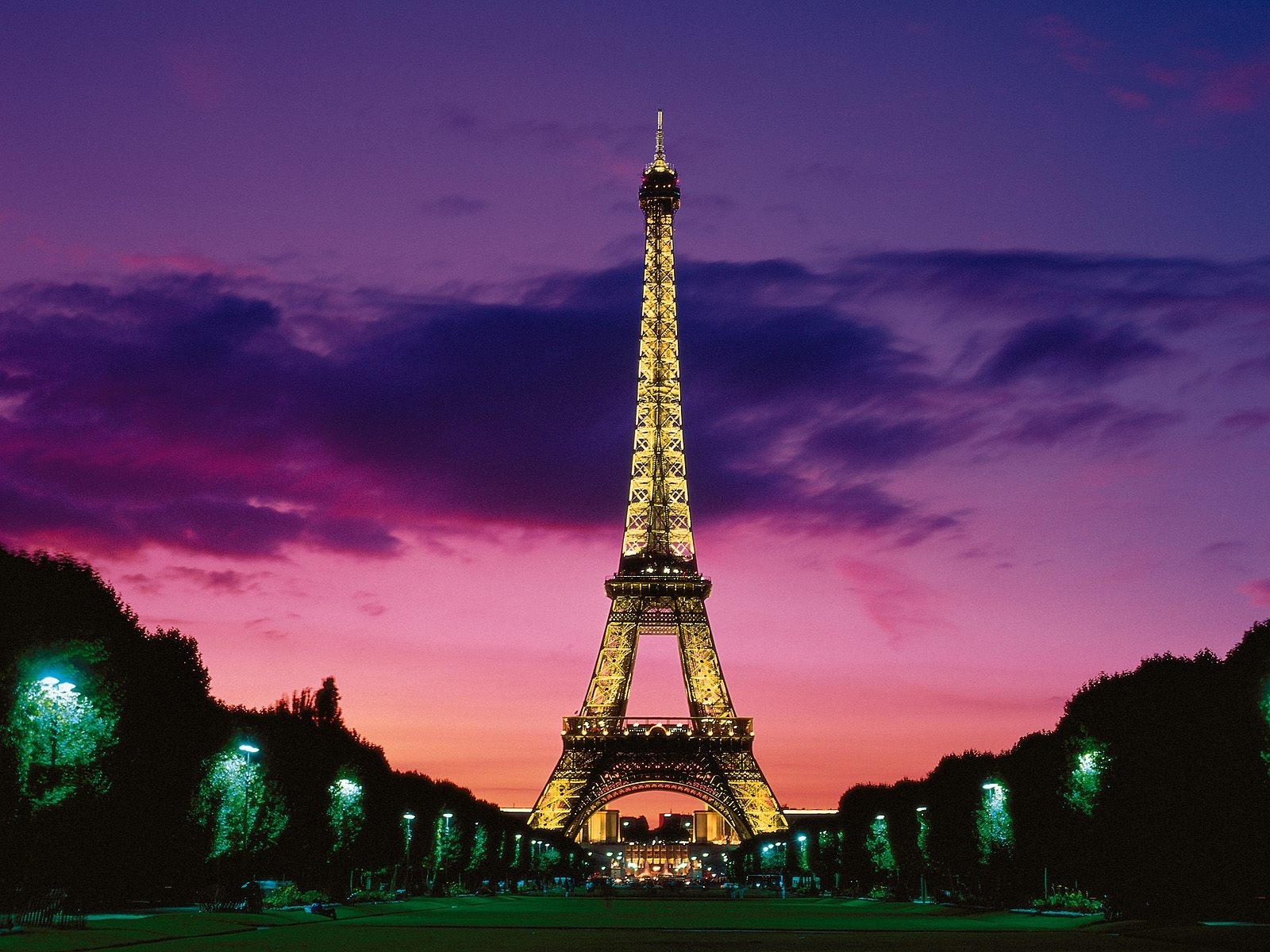eiffel tower at night paris france wallpapers | hd wallpapers | id #6019