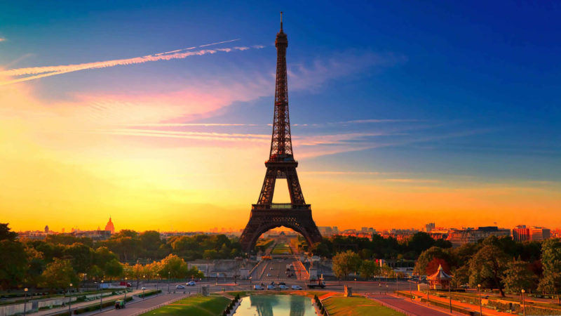 10 Most Popular Paris France Wall Paper FULL HD 1920×1080 For PC Background 2021 free download eiffel tower at sunset paris france uhd 4k wallpaper pixelz 800x450