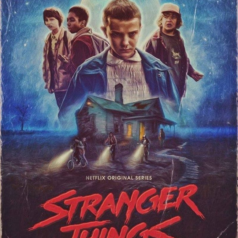 10 Latest Stranger Things Poster Hd FULL HD 1920×1080 For PC Background 2020 free download en images de superbes fan arts rendent hommage a stranger things 800x800