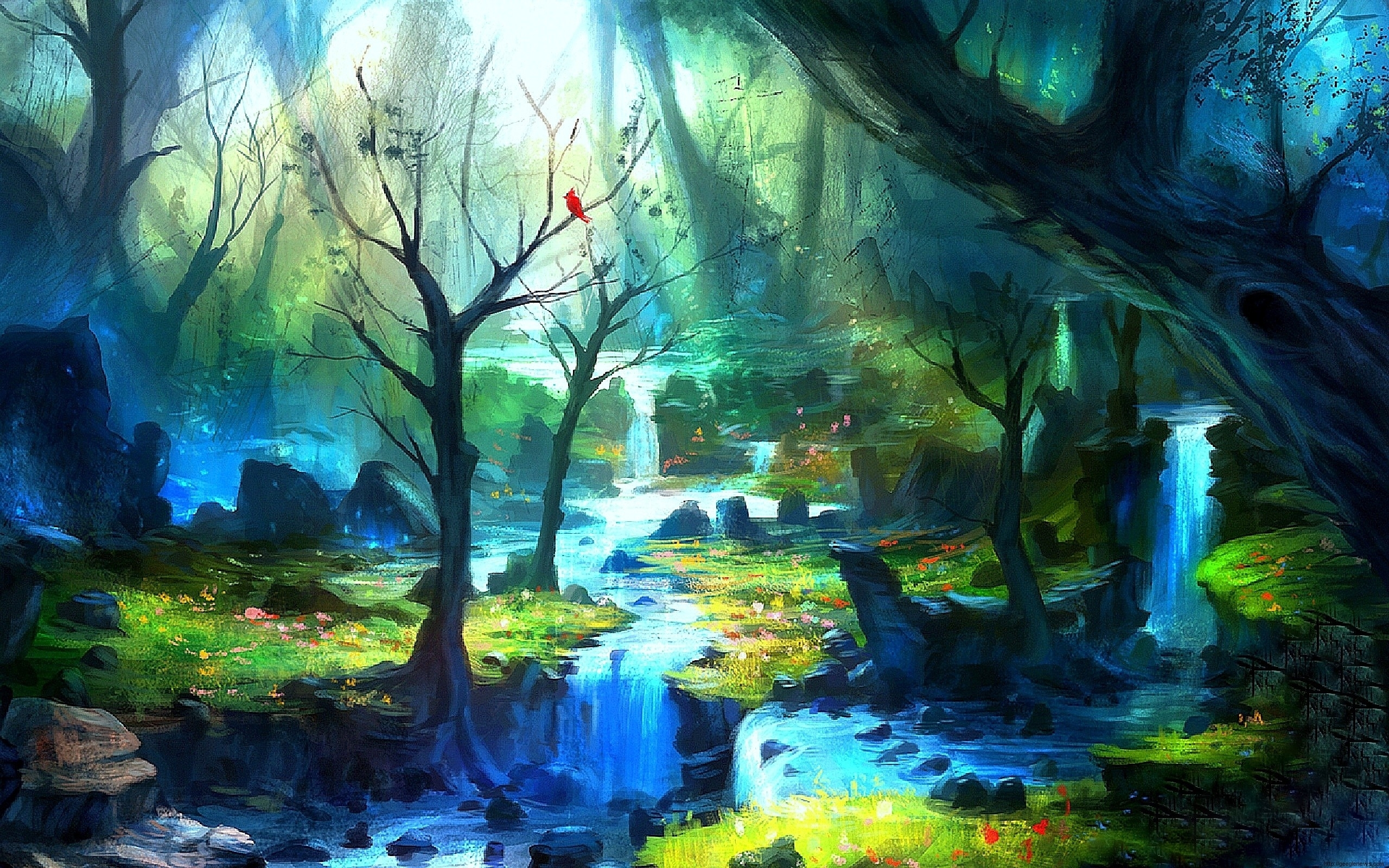 enchanted forest wallpapers hd - geegle news