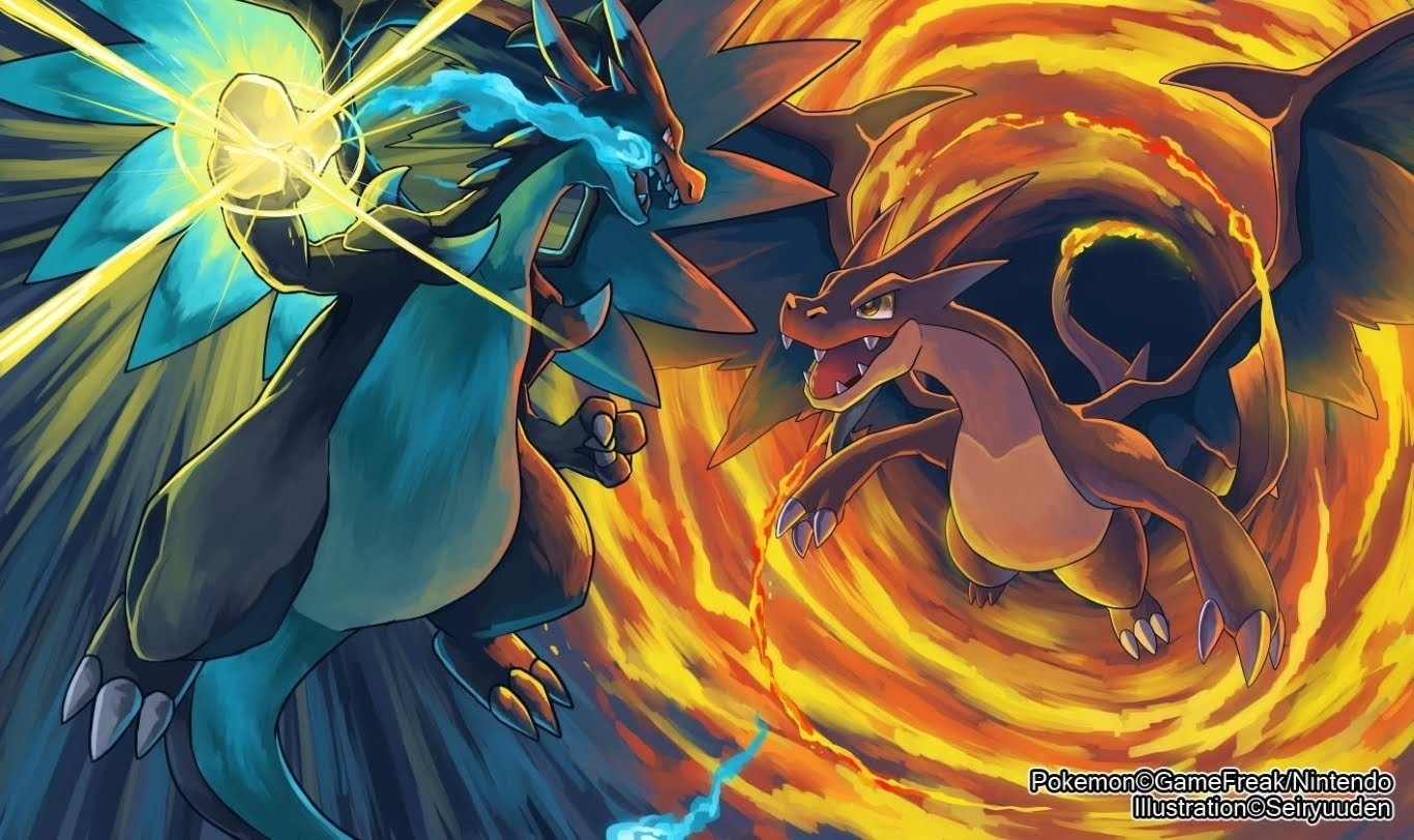 epic charizard wallpaper! tutorial - youtube