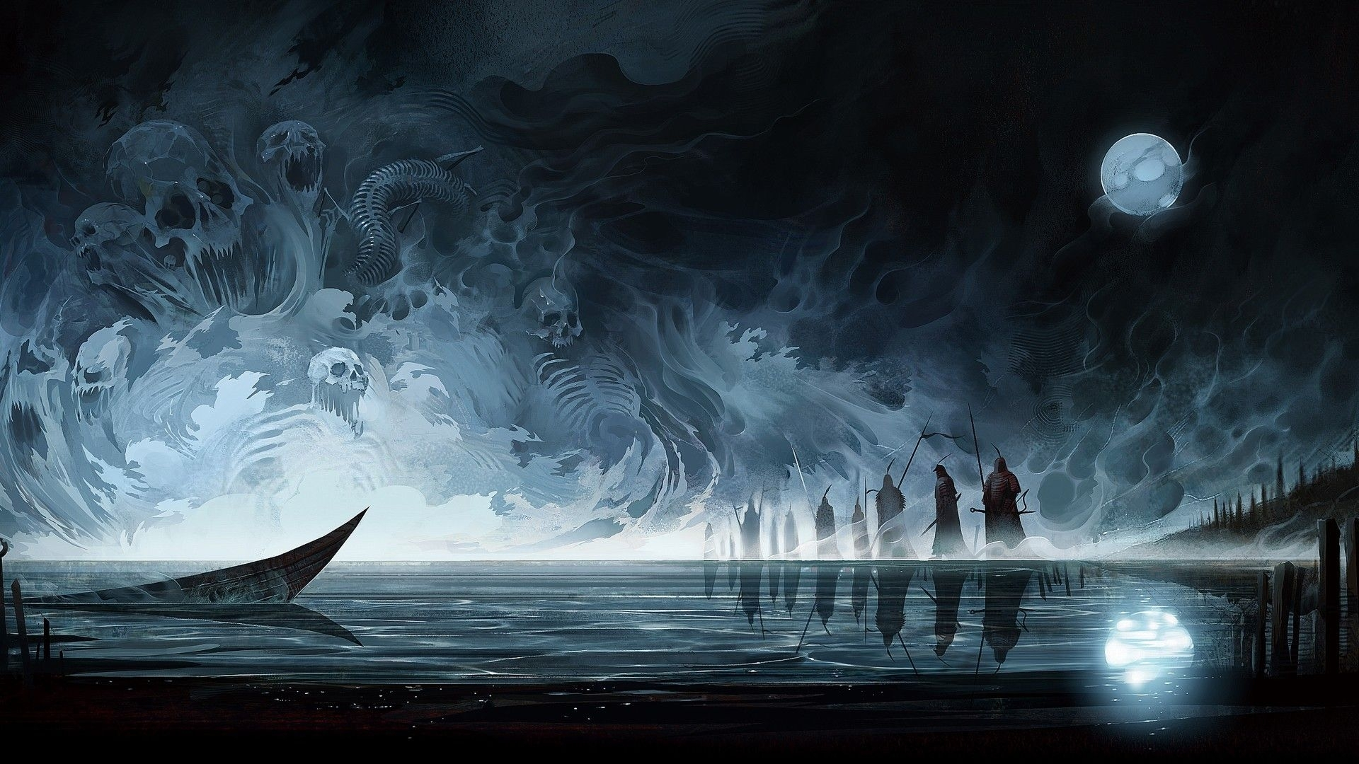 10 Latest Dark Fantasy Hd Wallpapers FULL HD 1080p For PC
