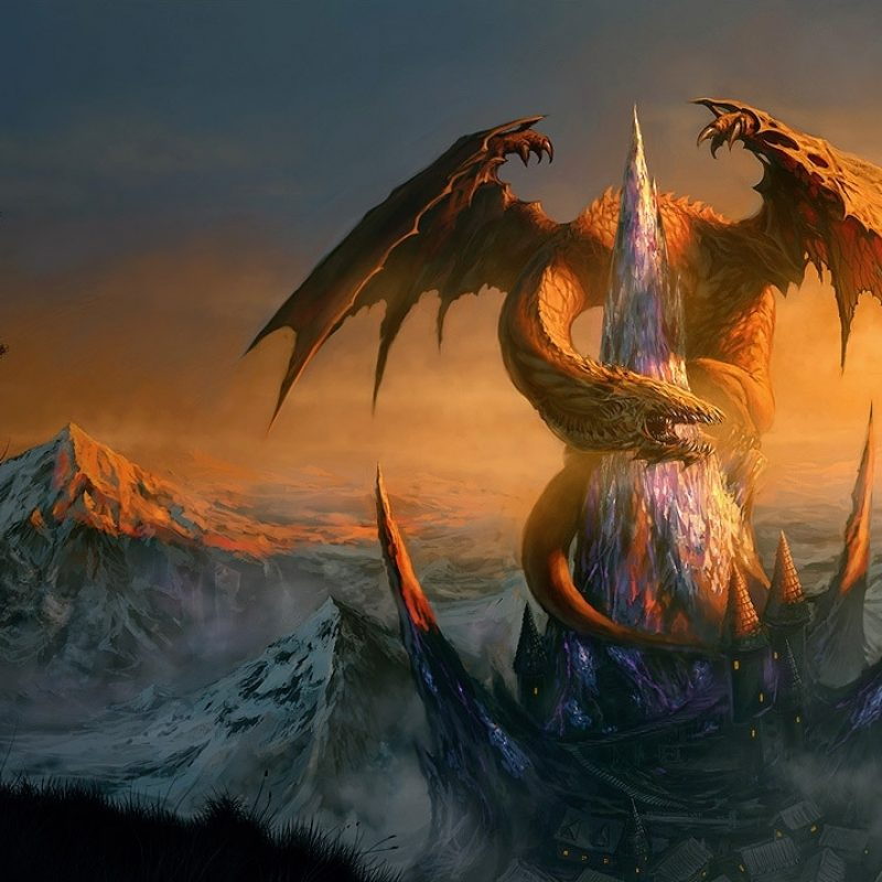 10 Best Epic Dragon Fantasy Wallpapers FULL HD 1080p For