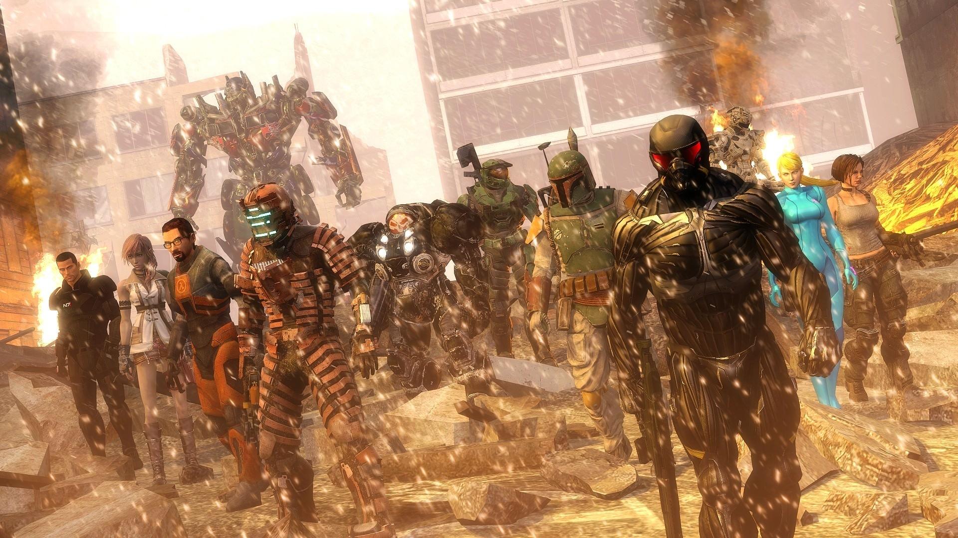 epic gaming heroes wallpaper | digitalart.io