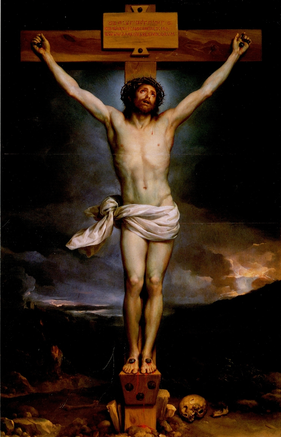 epph | mengs' christ on the cross (1761-9), goya's and francis