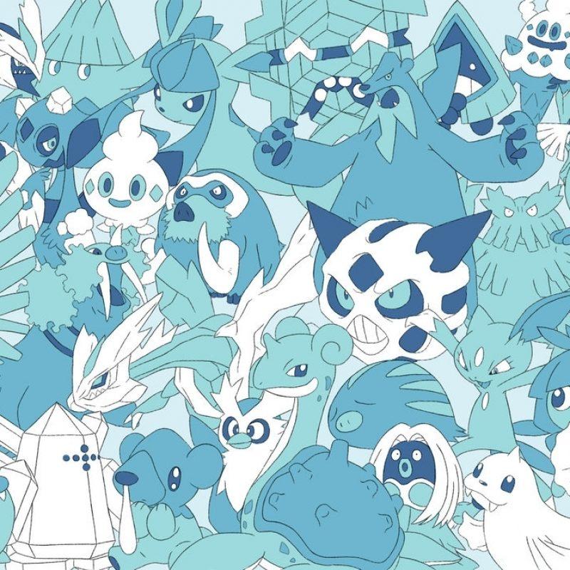 10 New Ice Type Pokemon Wallpaper FULL HD 1080p For PC Desktop 2018 free download every ice pokemon wallpaperlvstarlitsky on deviantart pokemon 800x800